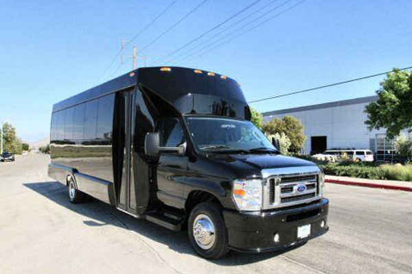 22 passenger party bus Long Beach