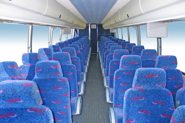 50 person charter bus rental Long Beach