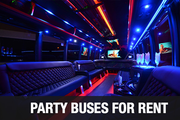Party Buses For Rent Long Beach