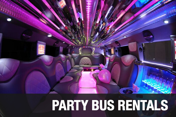 Party bus Rentals Long Beach