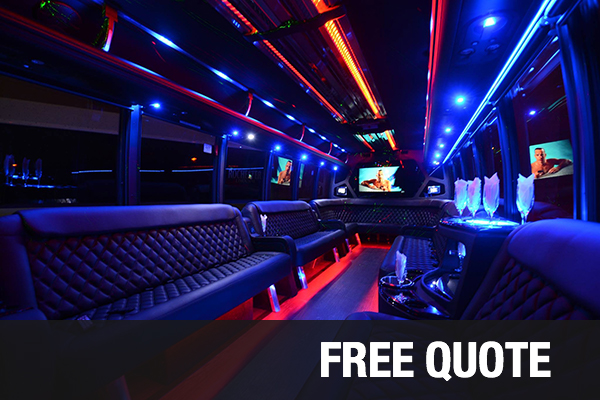party buses for rental Long Beach