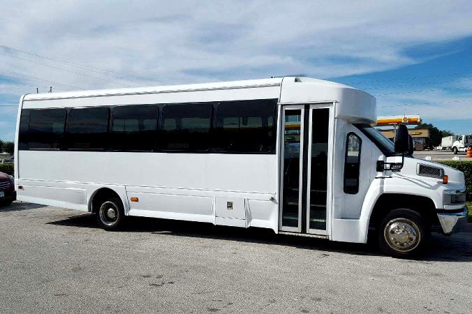 Long Beach 36 Passenger Shuttle Bus