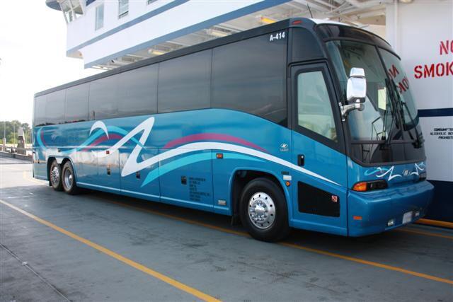Long Beach 50 Passenger Charter Bus